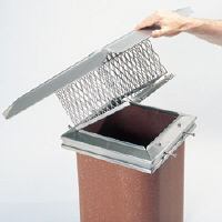 Gelco Stainless Steel Easy Clean Chimney Cap