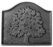 Woodfield Small Oak Cast Iron Fireplace Fireback