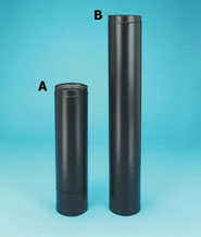 double wall stove pipe telescoping pipe & 6 Double Wall Stove Pipe - Duravent Stove Pipe | Woodstove Outlet